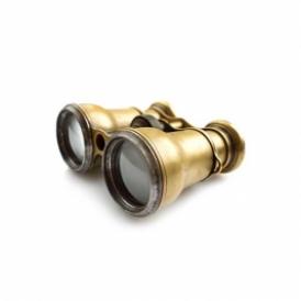 gold binoculars