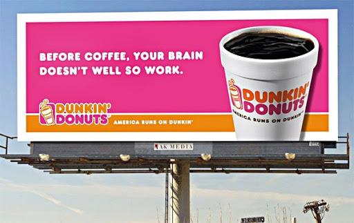 dunkin donuts ad