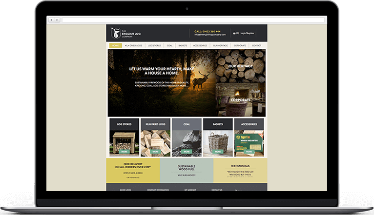 The English Log Company - Homepage