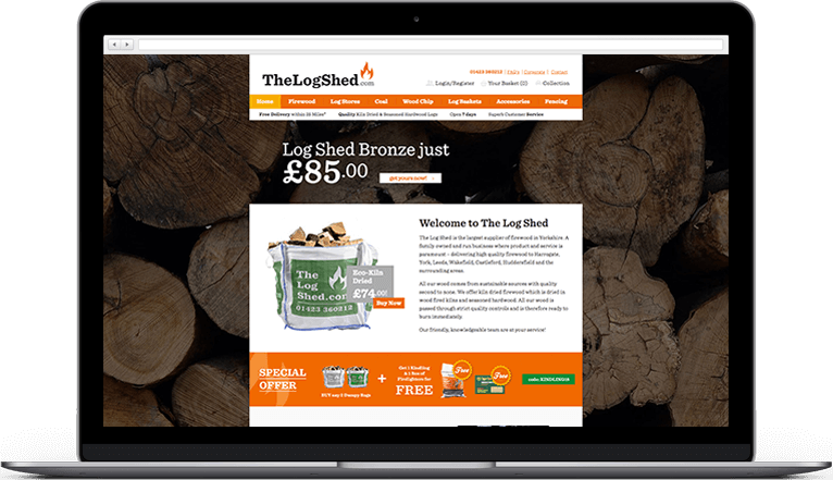 The Logshed - Homepage
