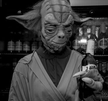 PS Yoda Getting on the Beers